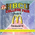 Annual HBCU College Fair November 18