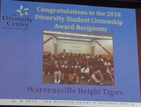 Warrensville Tigers given the 2018 Diversity Student Citizenship Award