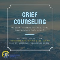 WHCSD offers grief counseling