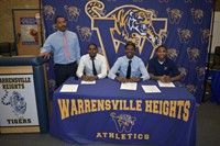 A proud day for the WH Football Program and entire Tiger community on National Signing Day