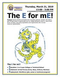 The E for mE! (Seniors Only)