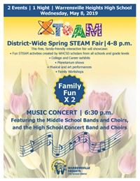 Join Us for the Spring STEAM Fair