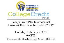 College Credit Plus Informational Meeting