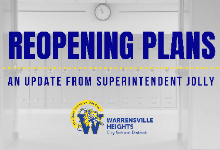 District Reopening Update