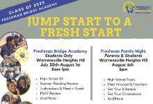Freshman Bridge Academy (July 30th-August 1st)