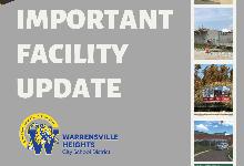 Important Facilities Update