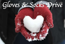 gloves and socks drive