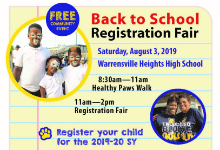 Join us on Saturday, August 3rd for Back to School Fair