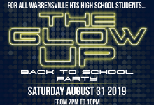 Back to School Party for all WHHS Scholars