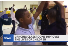 Eastwood's Dancing Classrooms featured on Spectrum News 1