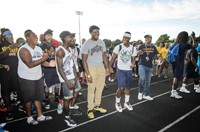 Summer 2016 Community Cookout and Pep Rally