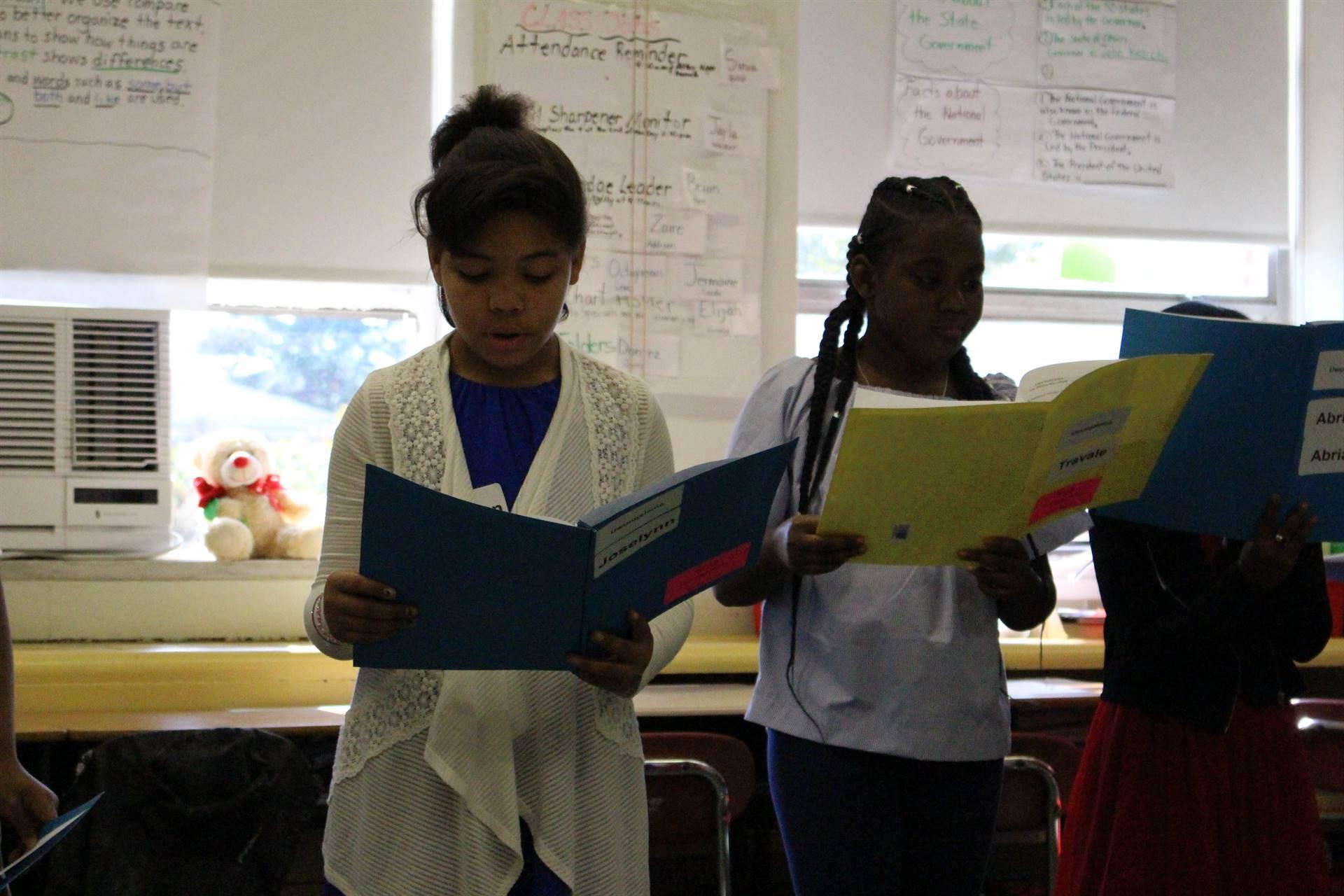 4th Grade Reader's Theater - October 2017