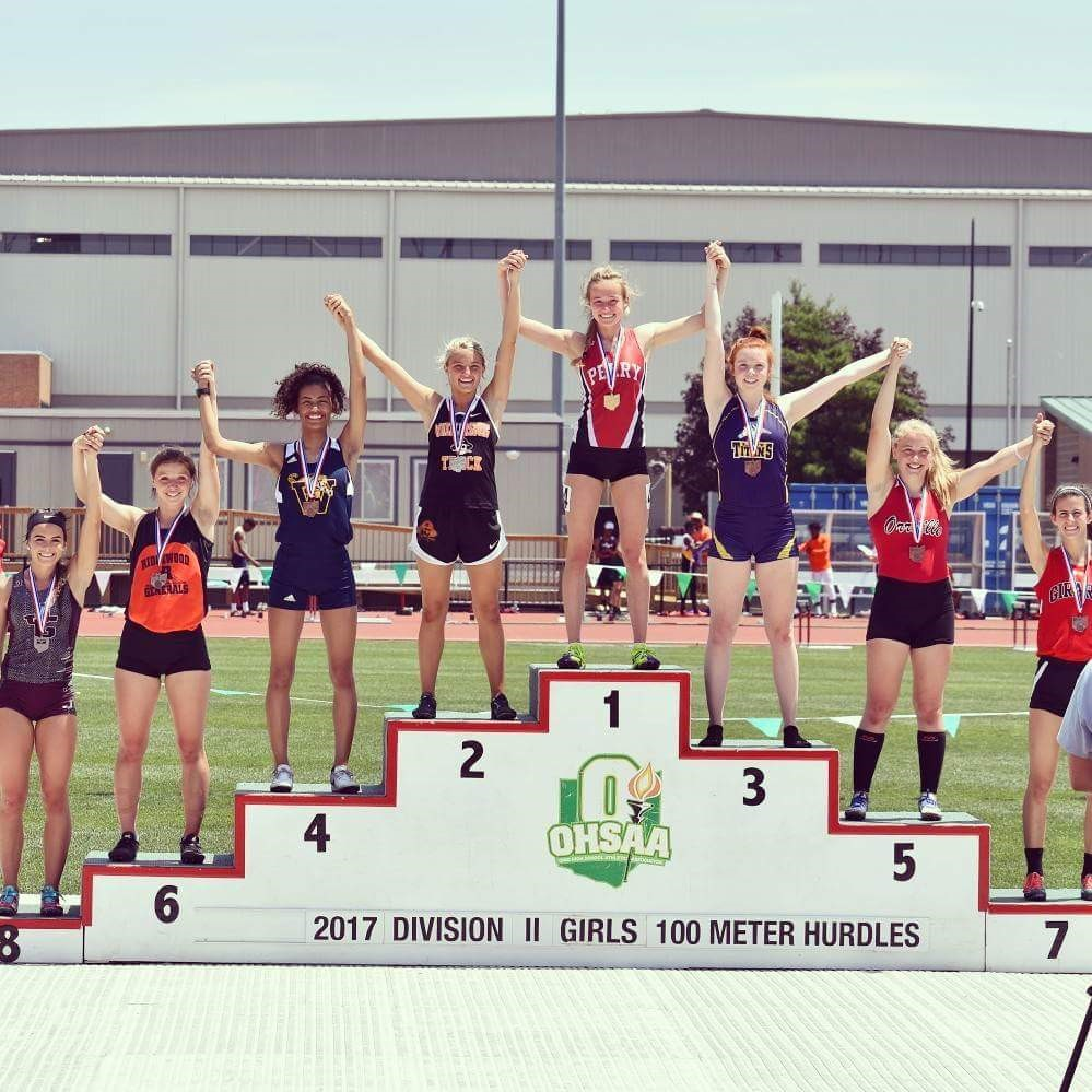 WHHS Track Team Receives Medals at OHSAA Division II State Track Meet