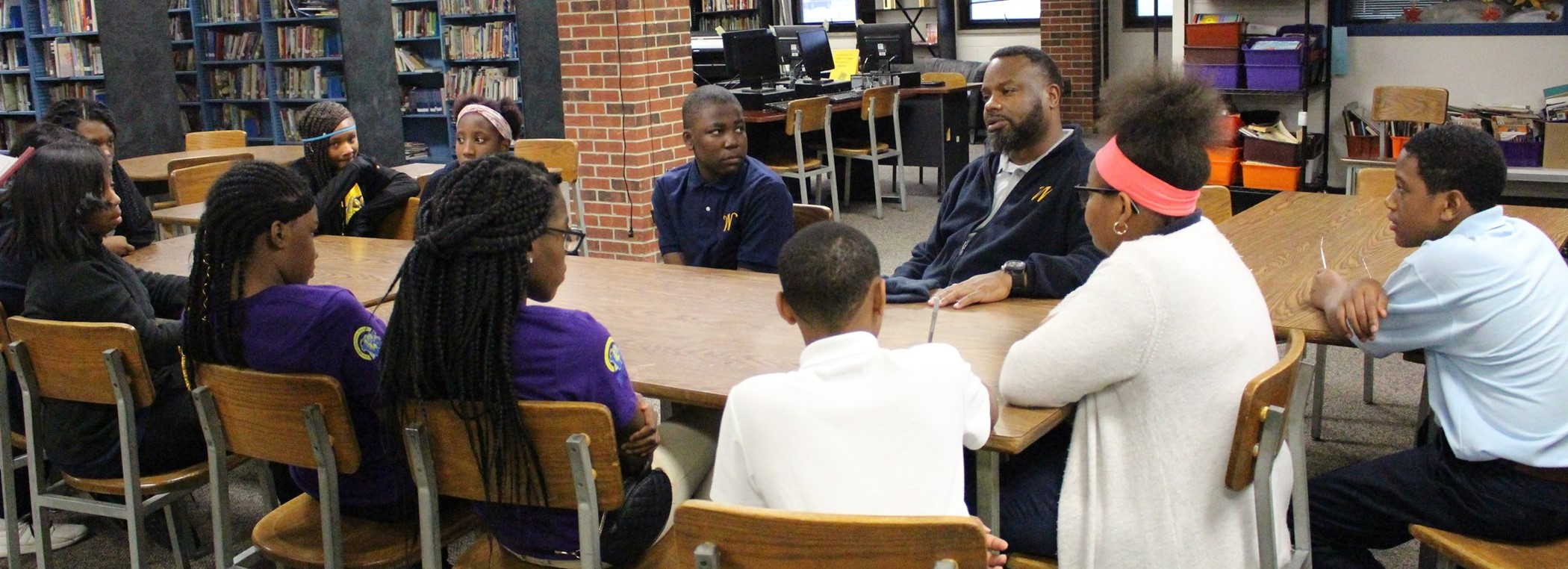 Superintendent with MD Scholars