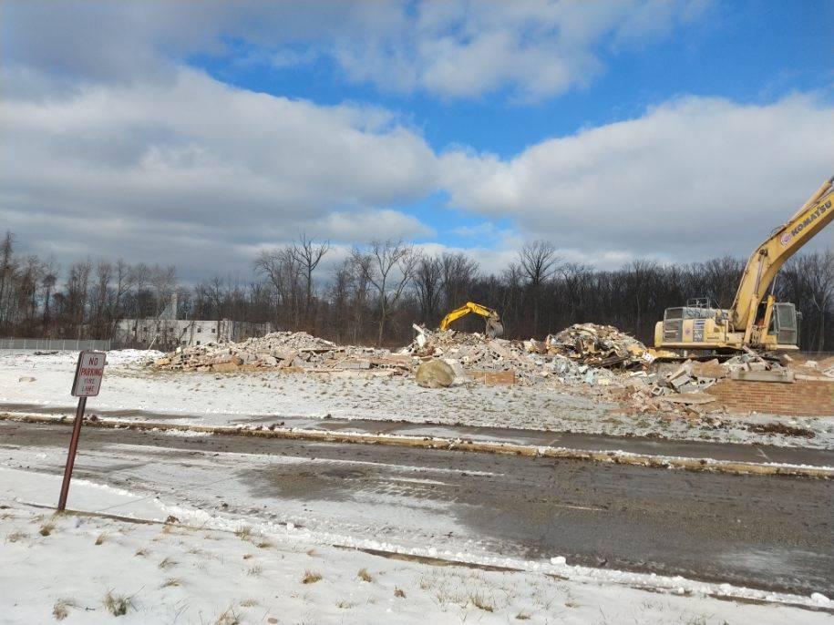 January-Demolition