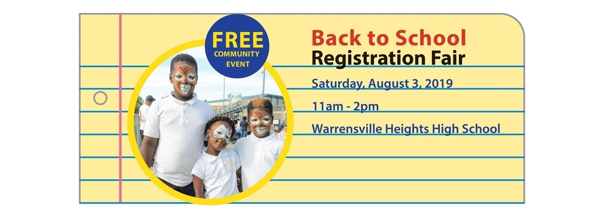 Back to School Registration Fair