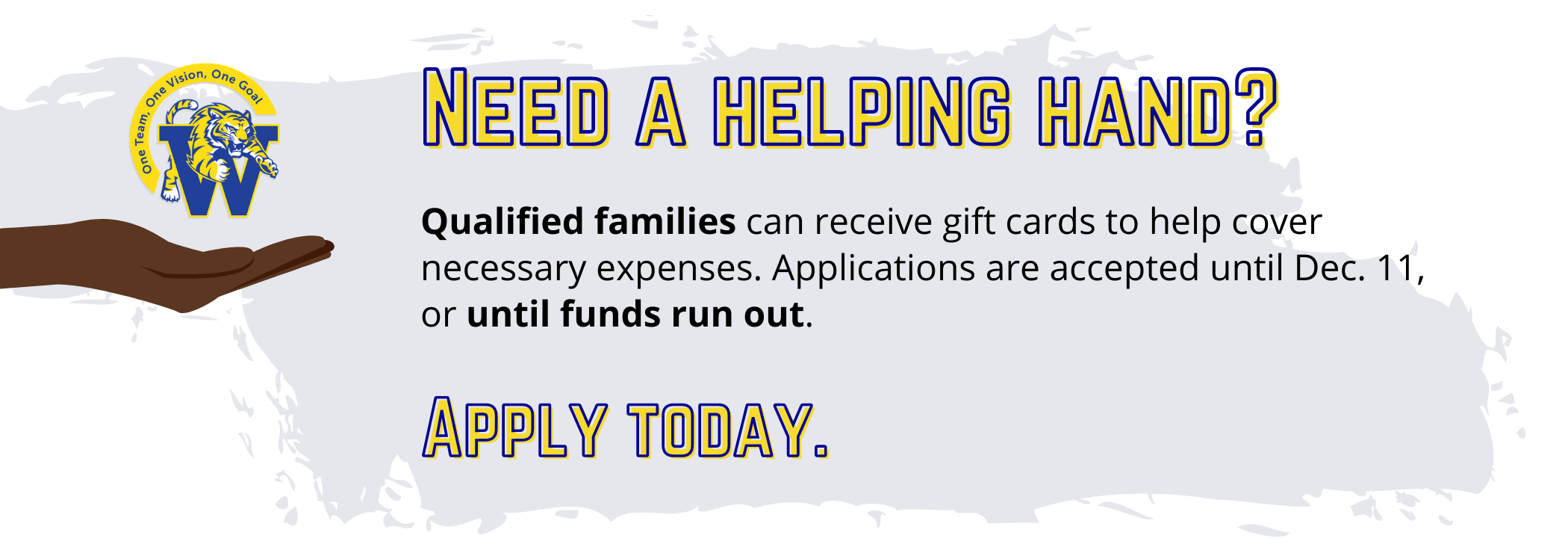apply for family assistance today