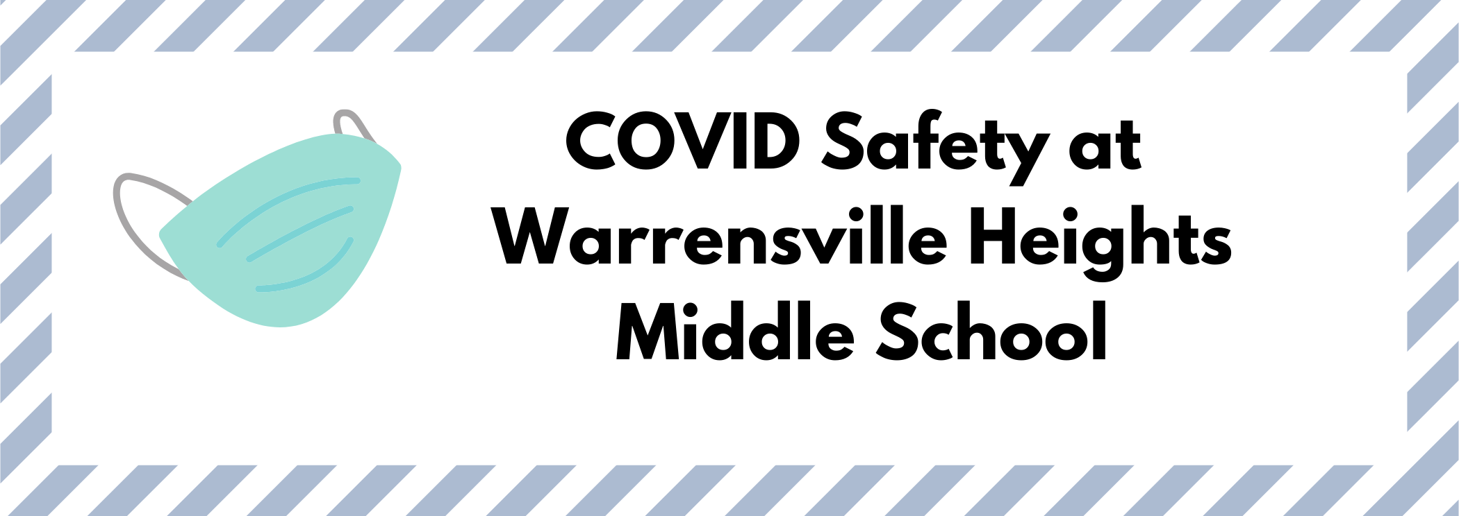 COVID safety at Warrenville Heights Middle School