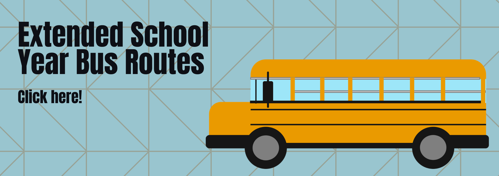 extended school year bus stops